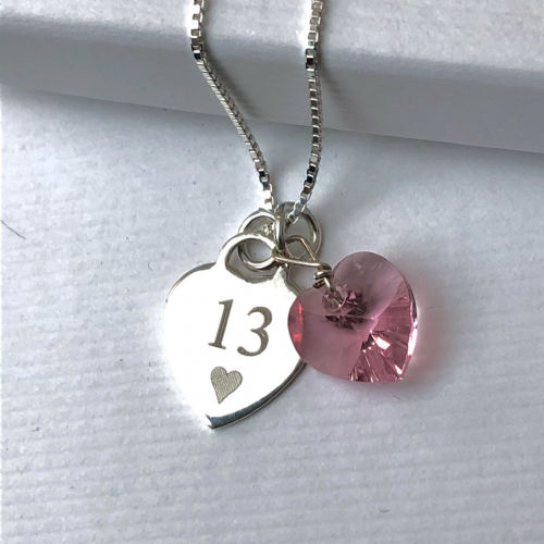 13th birthday personalised gift - FREE ENGRAVING